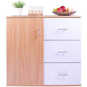 Merax 3-drawer and 1-shelf Storage Cabinet for Sale in Columbus, OH
