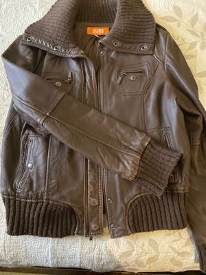 Michael Kors leather jacket for Sale in New York, NY