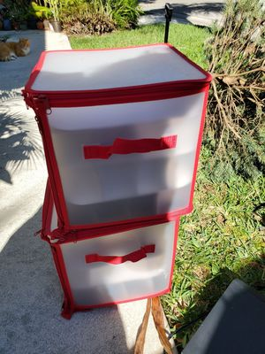 Great condition Christmas ornament storage containers for Sale in Boynton Beach, FL