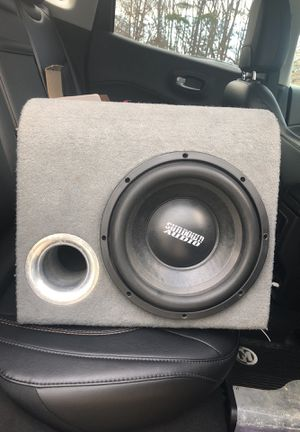 "Sundown 10"" Sub/Dual and JVC stereo/Memphis 500w Amp for Sale in Farmville, VA"