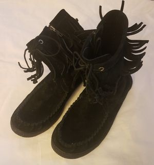 UGG Moccasin Fringe Boots for Sale in Raleigh, NC