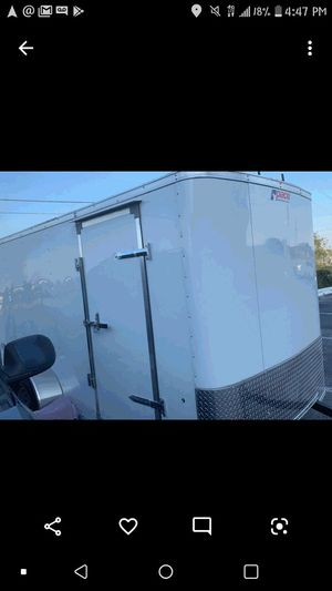 Enclosed trailer used 1 for Sale in Fort Worth, TX