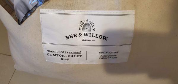 Bee & Willow home Matelasse 3 Piece