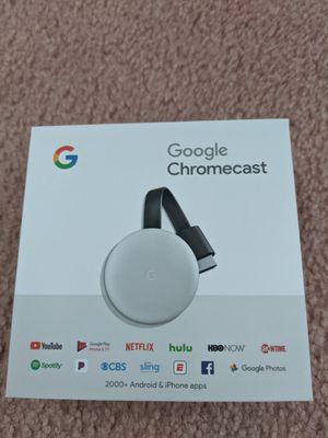 Google Chromecast White 2nd Gen for Sale in San Francisco, CA