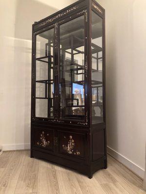 Antique Fine China Cabinet for Sale in Alexandria, VA