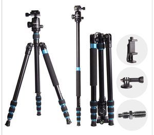 "Regetek 63"" Professional DSLR Camera Tripod Monopod with 360 Panorama Ball Head for Canon Nikon Sony Olympus DV Gopro with Carry Bag/Phone Adaptor/Go for Sale in Ontario, CA"