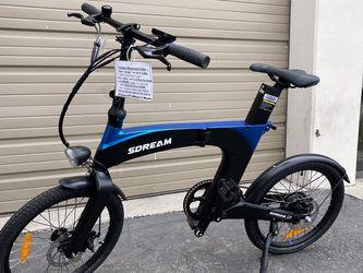 SDREAM UR 350Lite - 350 Watts Folding Magnesium Electric Bike in Navy Blue - Brand New for Sale in Diamond Bar,  CA