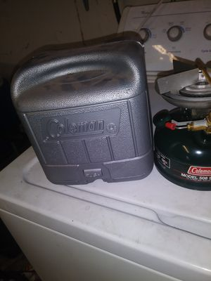 coleman campers stove for Sale in Carmichael, CA
