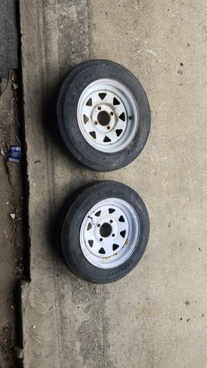 Trailer wheels and tires 4.80x12 for Sale in Chicago, IL