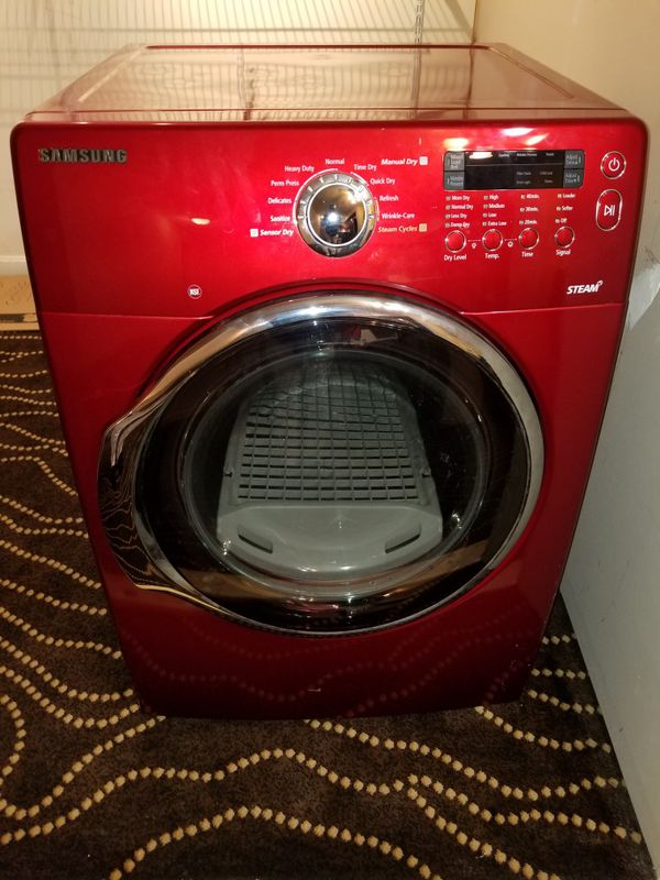 Samsung-GAS Heavyduty STEAM Dryer