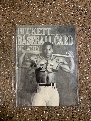 Bo Jackson Beckett Baseball Card cover for Sale in Laguna Niguel, CA