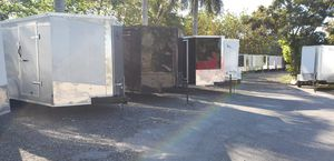 Trailers all sizes brand new enclosed cargo for Sale in Miami, FL