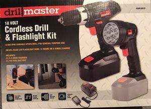 18 v Cordless Drill & Flashlight Kit for Sale in Bartow, FL