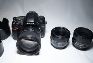 Nikon D610 and sigma lenses for CHEAP for Sale in Sacramento, CA
