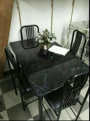 Dining set 4 chairs in special offer for Sale in Miami, FL