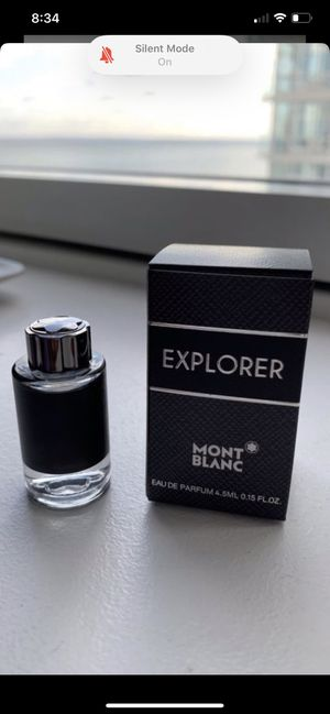 Mont blanc Explorer 0.15 oz perfume for Sale in Staten Island, NY