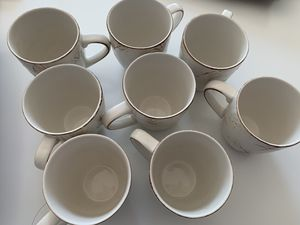 Stoneware embossed with seashell design Mug Set for Sale in Bethesda, MD