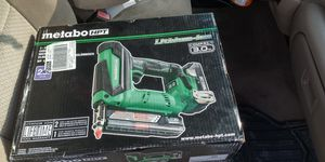 Metabo finishing nail gun for Sale in Shawnee, KS