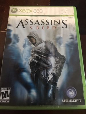 Assassins creed- Xbox 360 game for Sale in Houston, TX