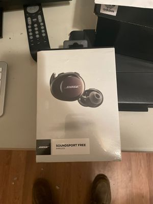 Bose sound sport free wireless headphones for Sale in Chula Vista, CA