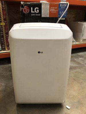 LG portable air conditioner 8,000 btu with remote control for Sale in Ontario, CA