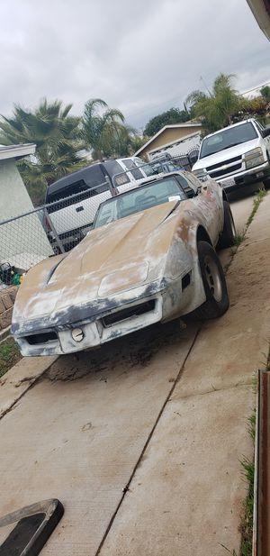 1980 chevy Corvette for Sale in Moreno Valley, CA
