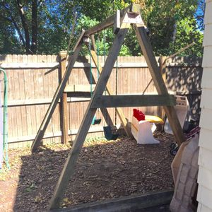"""Homemade Amish swing set,""""Built To Last"""" for Sale in Cleveland Heights, OH"""