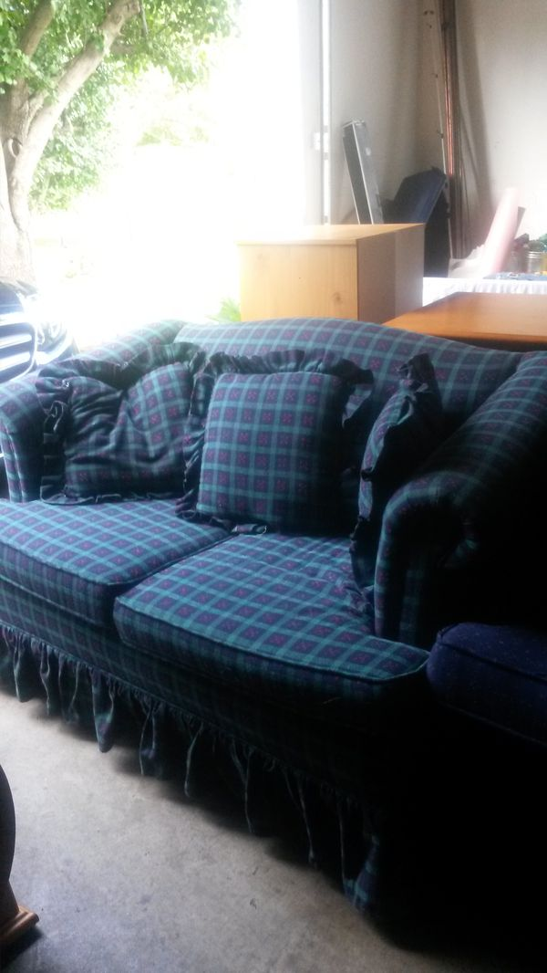 Beautiful solid wood couch