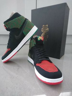 DS Nike Air Jordan 1 Flyknit BHM Size 9 for Sale in Anaheim, CA