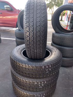 St 205-75-14 Constancy LY188 Trailer Tires for Sale in St. Petersburg, FL