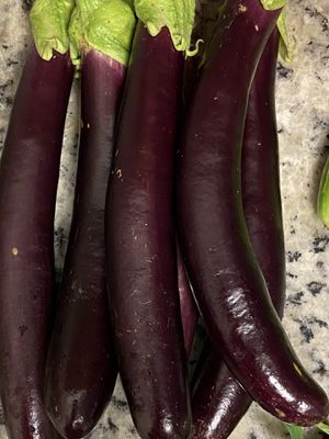 Eggplants fresh organic for Sale in Houston, TX