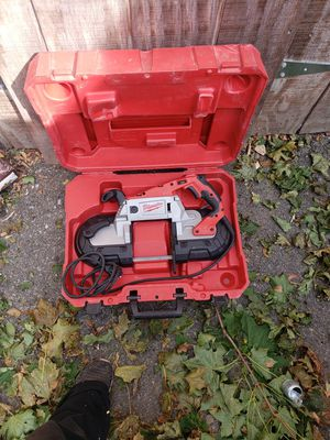 Milwaukee band saw for Sale in Fall River, MA
