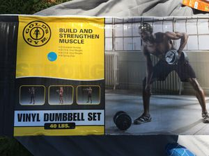 Dumbbell set for Sale in Columbus, OH