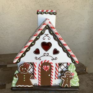 PartyLite Tea light Gingerbread Houses for Sale in Whittier, CA
