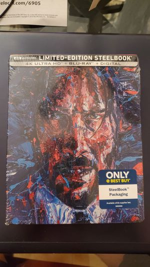 John Wick Chapter 3 Parabellum 4K Steelbook for Sale in Queens, NY