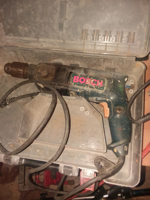 Bosch hammer drill $30 excellent working condition for Sale in Cleveland, OH