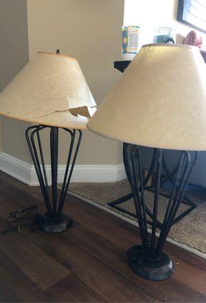 2 Lamps for Sale in Chesapeake, VA