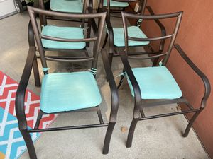 Patio Chairs x 6. for Sale in Denver, CO