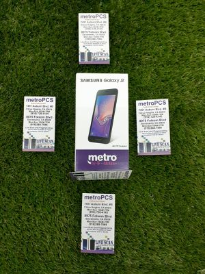 Samsung J2 brand new in store MetroPCS for Sale in Citrus Heights, CA