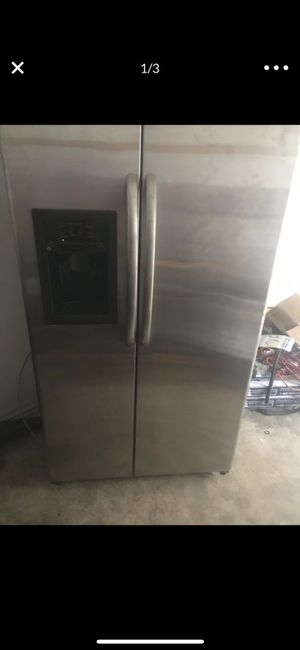 Refrigerator Stainless steel GE for Sale in Raleigh, NC