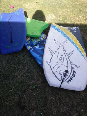 ,3 boogie boards for Sale in Bakersfield, CA