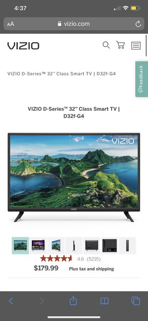 Vizio Smart Tv for Sale in Englewood, CO