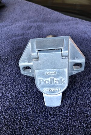 Pollak 7 pin trailer wire connector for Sale in Kelseyville, CA