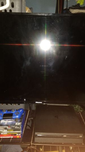 Ps4 slim 1tb Hisense 40 inch smart TV class FHD for Sale in Alvin, TX