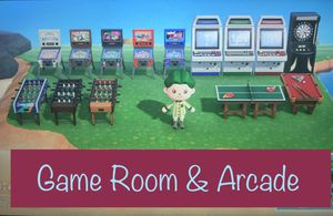 Animal Crossing New Horizons Game Room Arcade for Sale in Las Vegas, NV