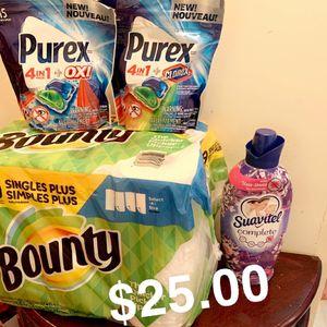 Purex, Bounty & Suavitel for Sale in The Bronx, NY