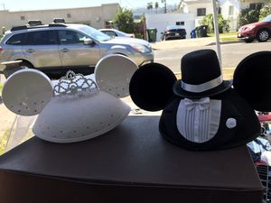 Bride and Groom Minnie & Mickey ears ♥️ for Sale in Los Angeles, CA