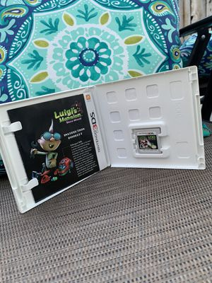 Luigi's mansion dark moon for the Nintendo 3DS for Sale in Modesto, CA