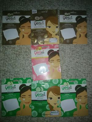 7 YES TO FACE MASKS for Sale in Schaumburg, IL