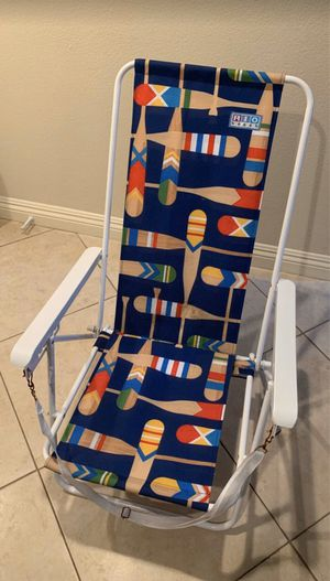 Foldable beach chair - $10 for Sale in San Diego, CA